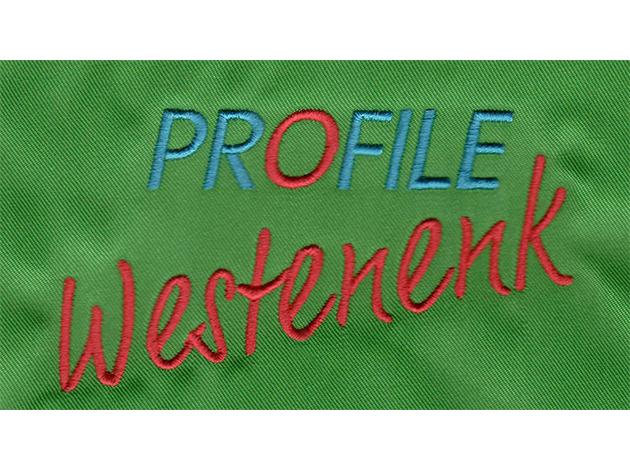 Profiel Westenenk - Borduurvoorbeeld