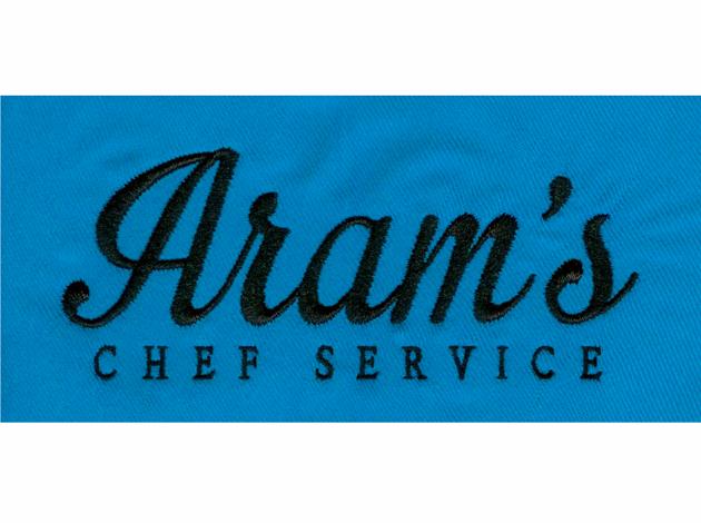 Aram's chef service - Borduurvoorbeeld